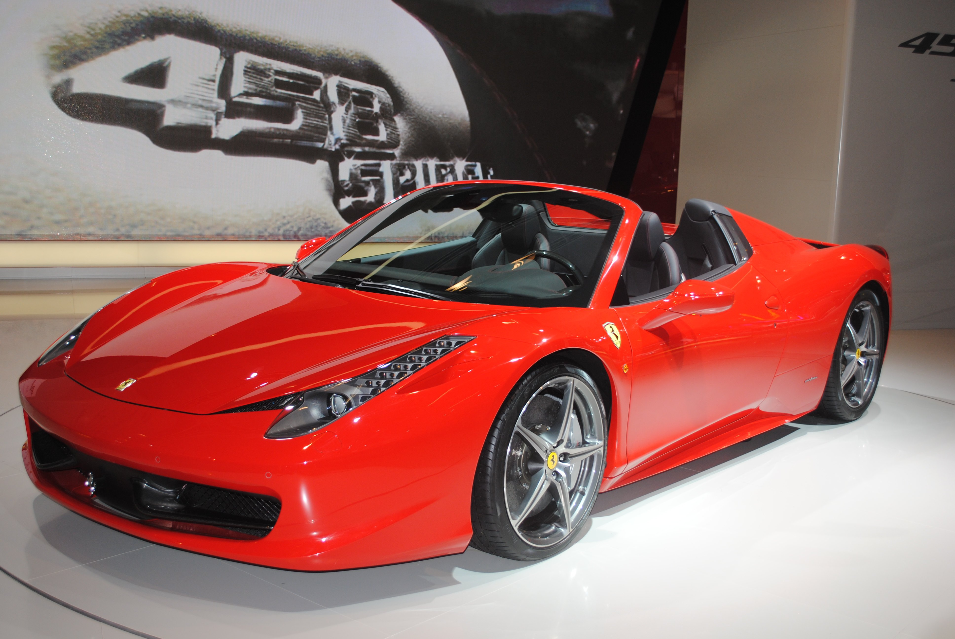 ferrari 458 spider ma voiture. Black Bedroom Furniture Sets. Home Design Ideas
