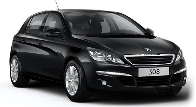 peugeot 308 noir ma voiture. Black Bedroom Furniture Sets. Home Design Ideas