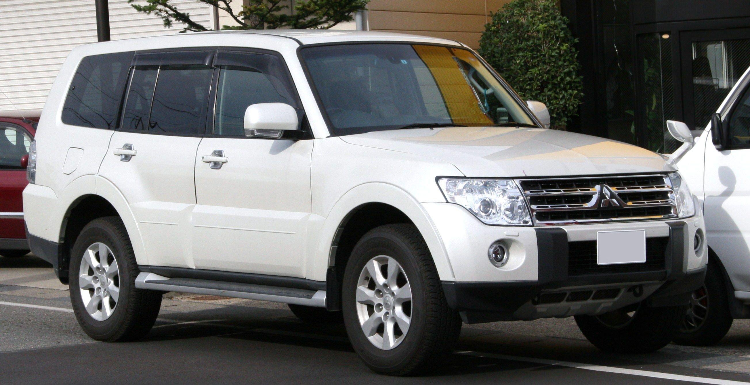 mitsubishi pajero  u2013 ma voiture