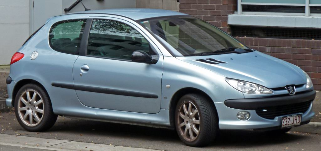 modèle peugeot 206
