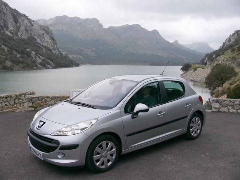 illustration peugeot 207