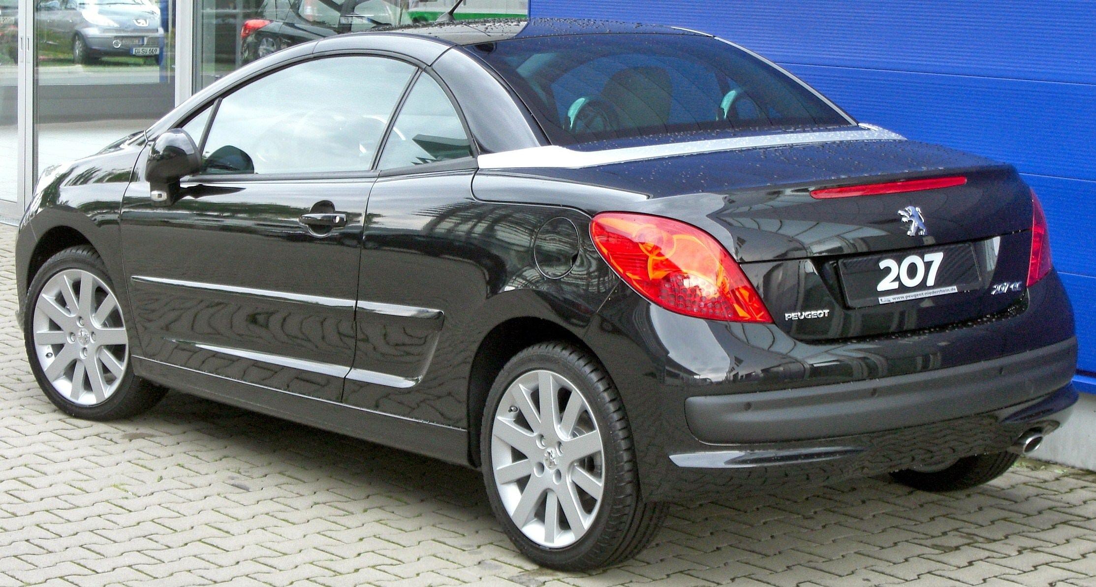 Peugeot 207 Cc Ma Voiture