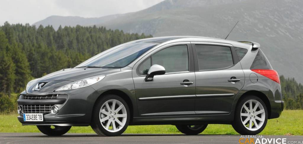 visualisation peugeot 207 sw