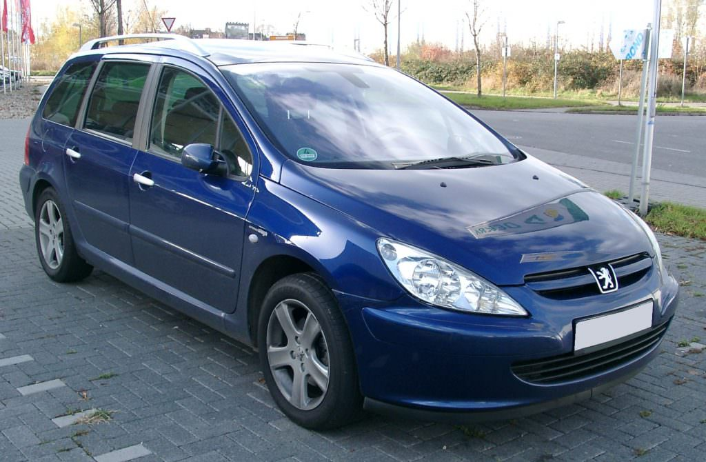 exemple peugeot 307 sw