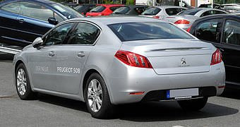 visualisation peugeot 508