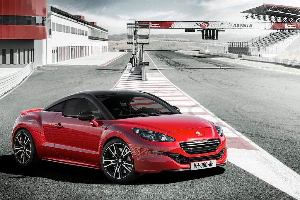 illustration peugeot rcz