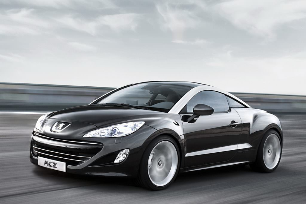 visualisation peugeot rcz