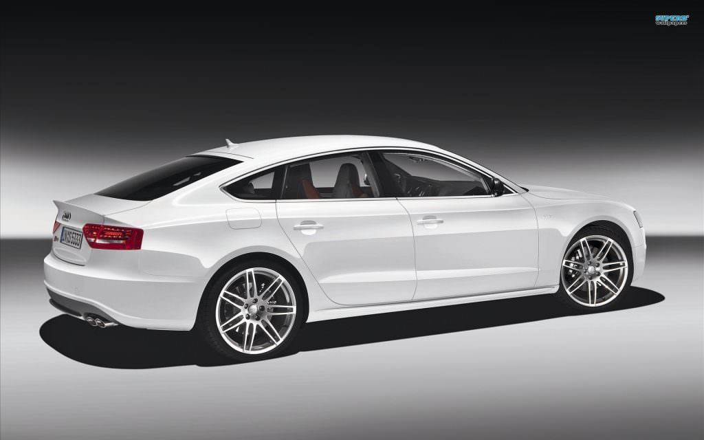 illustration audi a5 sportback
