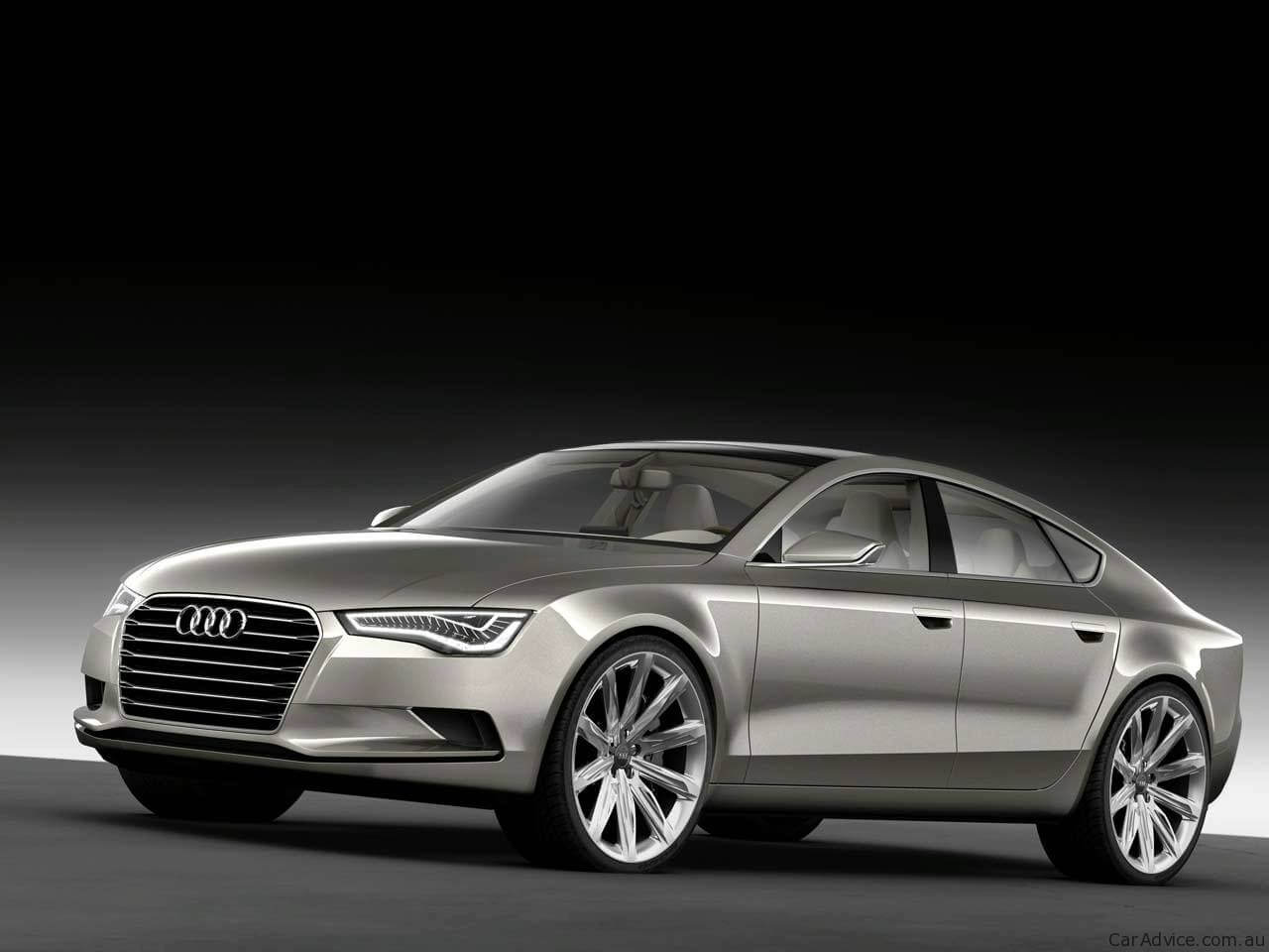 illustration audi a7 sportback