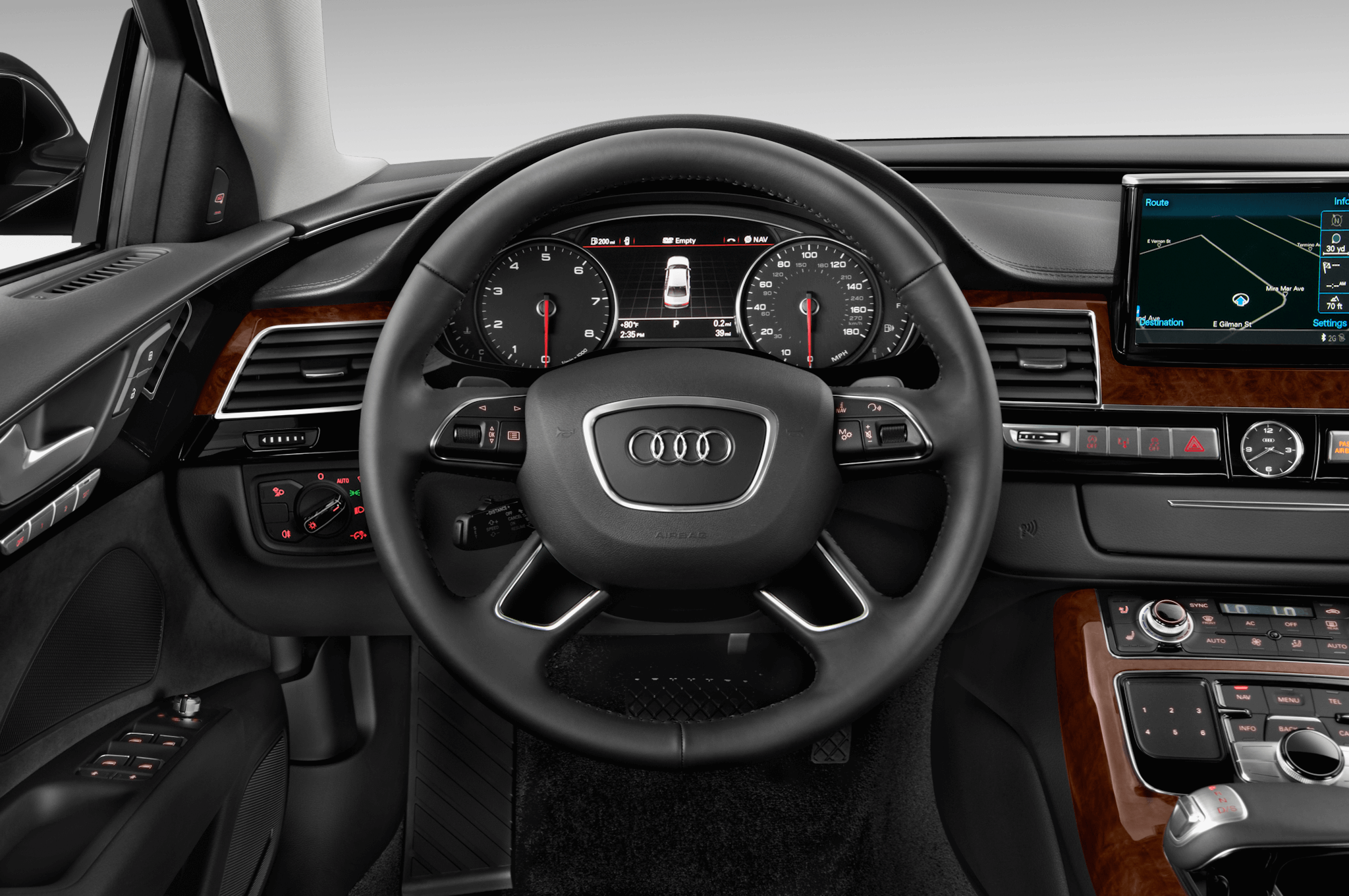 illustration audi a8