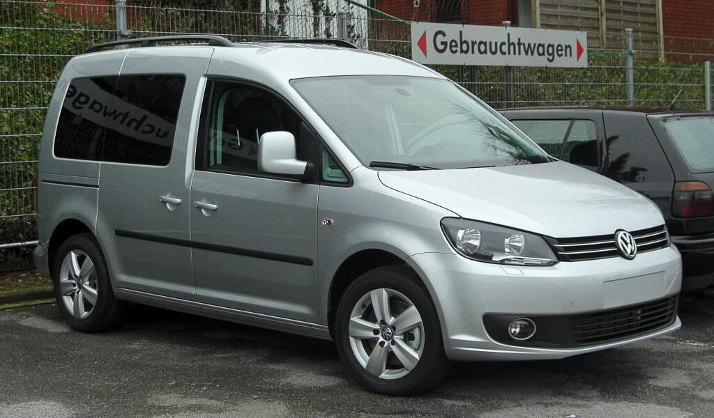 visualisation volkswagen caddy