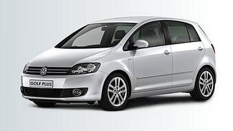 illustration volkswagen golf plus
