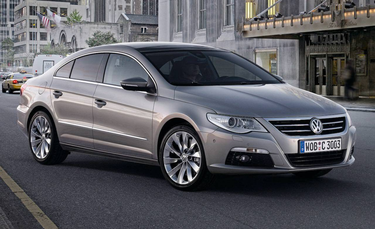 illustration volkswagen passat cc
