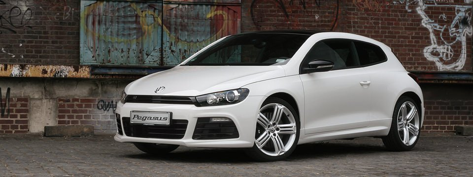 illustration volkswagen scirocco
