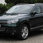 illustration volkswagen touareg