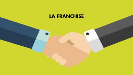 La franchise simple ou franchise relative