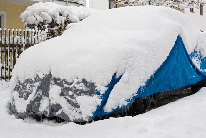 housse voiture polaire