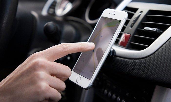 Support magnétique pour smartphone