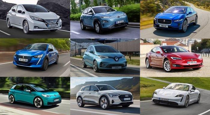 Les différents types de voitures électriques